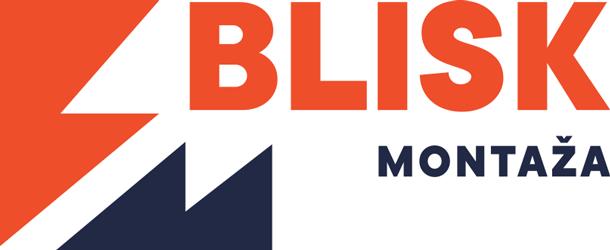 Logotip podjetja Blisk Montaža